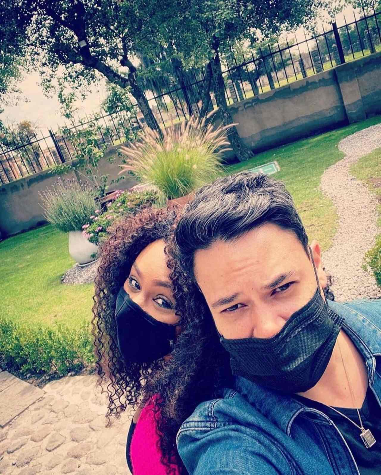 M'Balia muestra a su novia tras polémica con Lidia Ávila