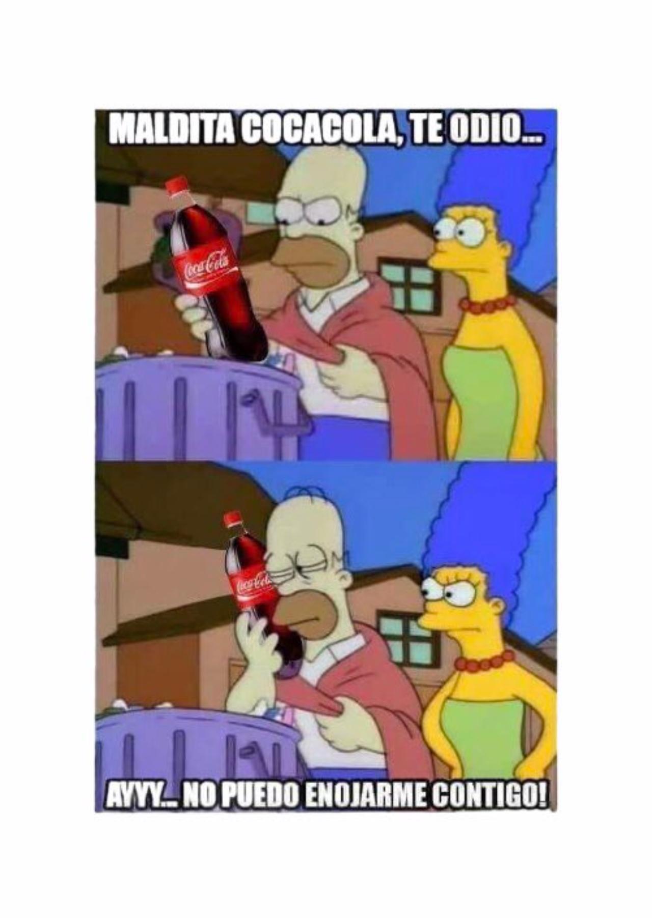 Meme yo te amo coca cola