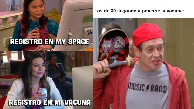 Memes del registro de vacuna Covid de los de 30 a 39 años