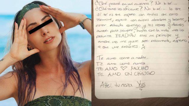 Análisis grafológico revela que YosStop es narcisista y manipuladora