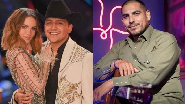 Belinda y Christian Nodal: ¿Espinoza Paz sería su padrino de boda?