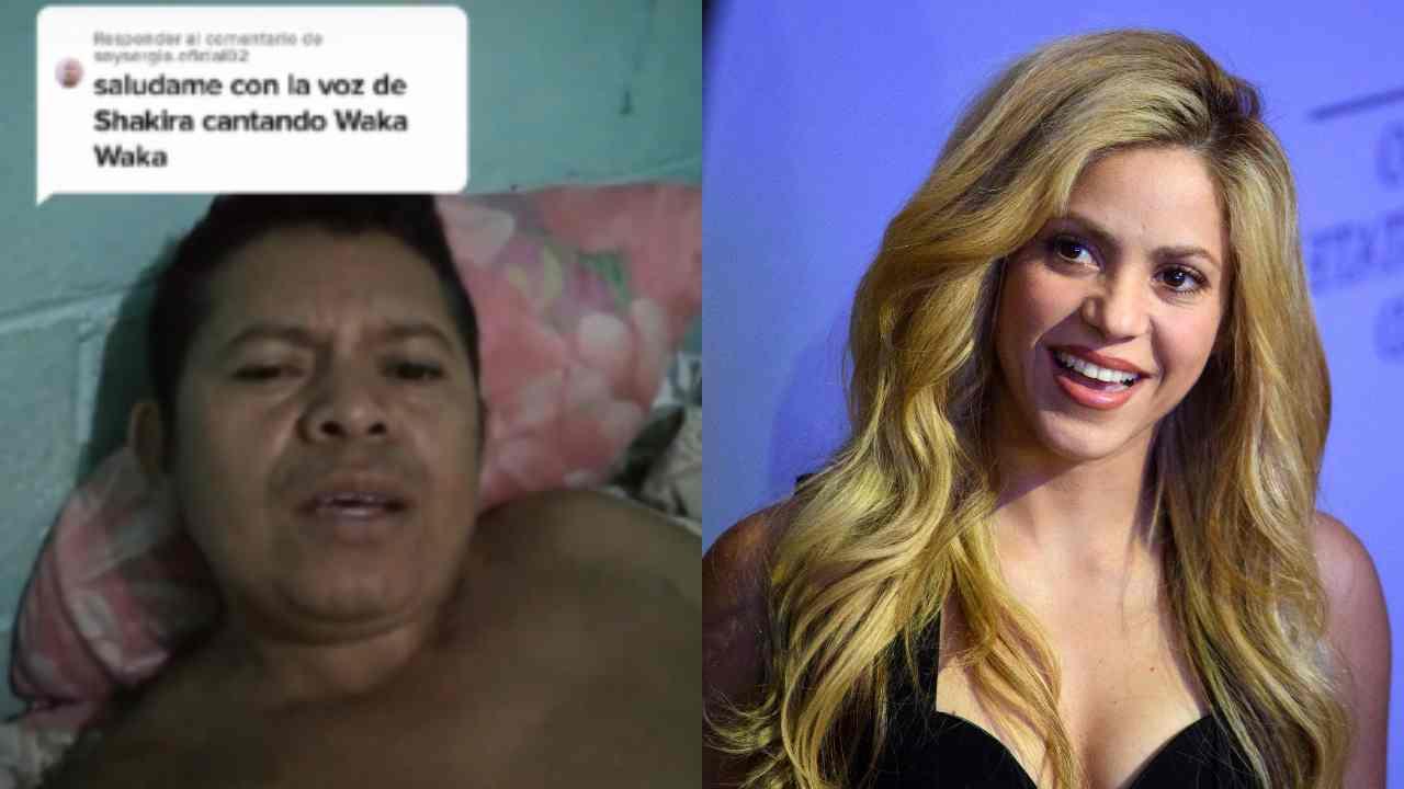 El hombre que canta idéntico a Shakira que se volvió viral en TikTok