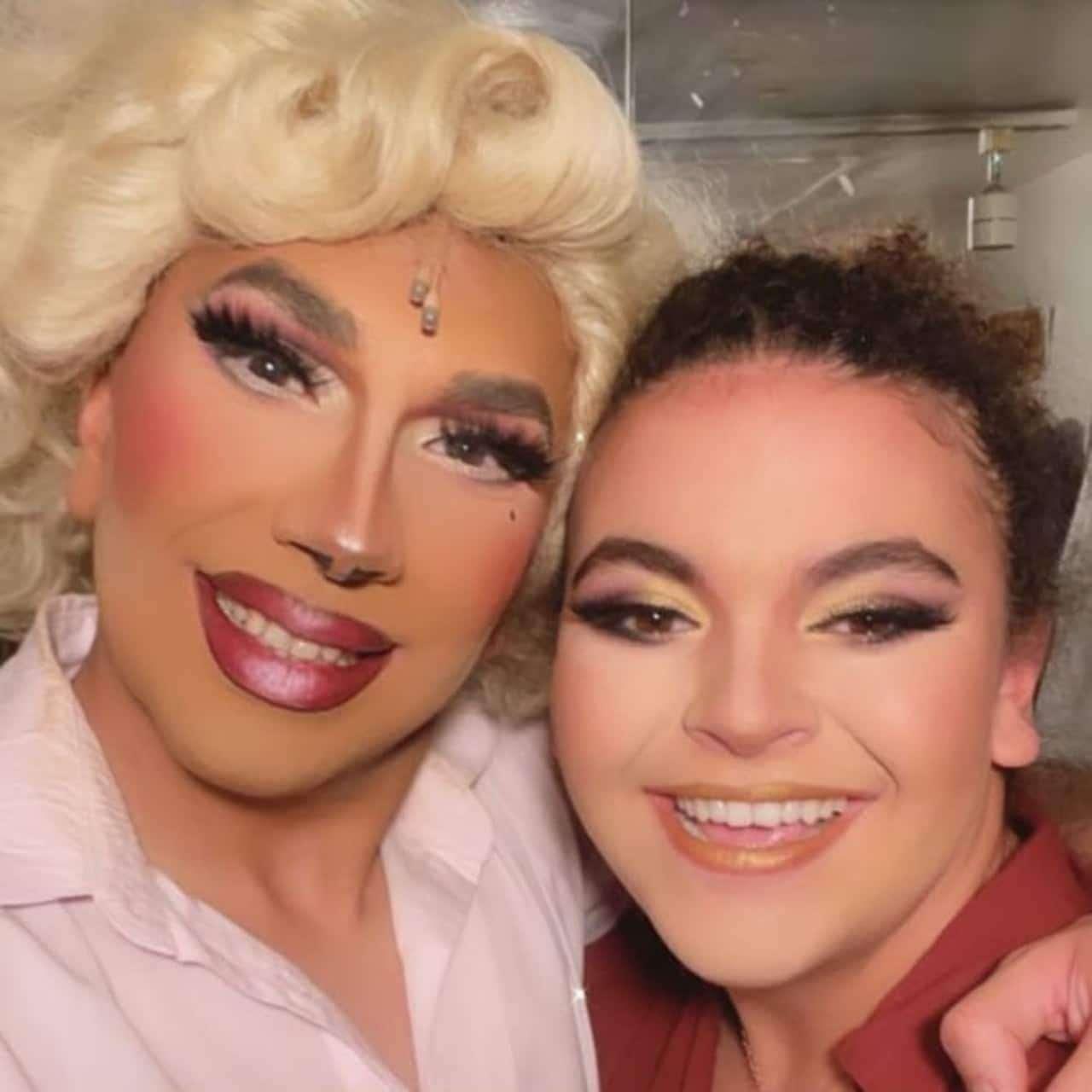 Lucerito Mijares en modo drag queen