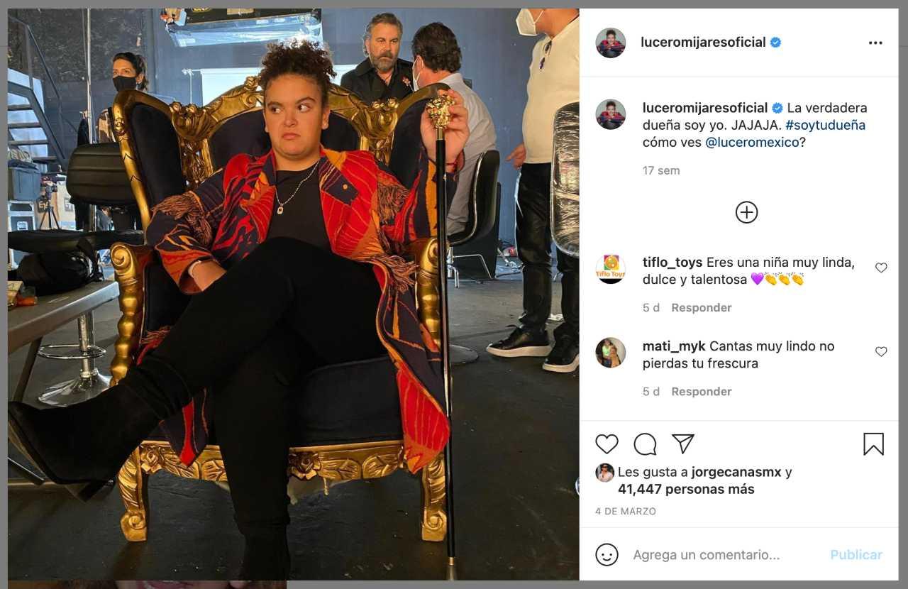 Lucero Mijares y sus mejores fotos en Instagram