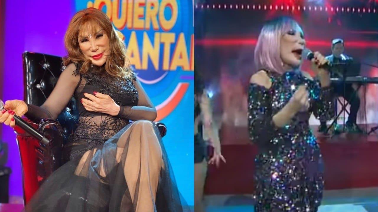 Lyn May canta en Venga La Alegria