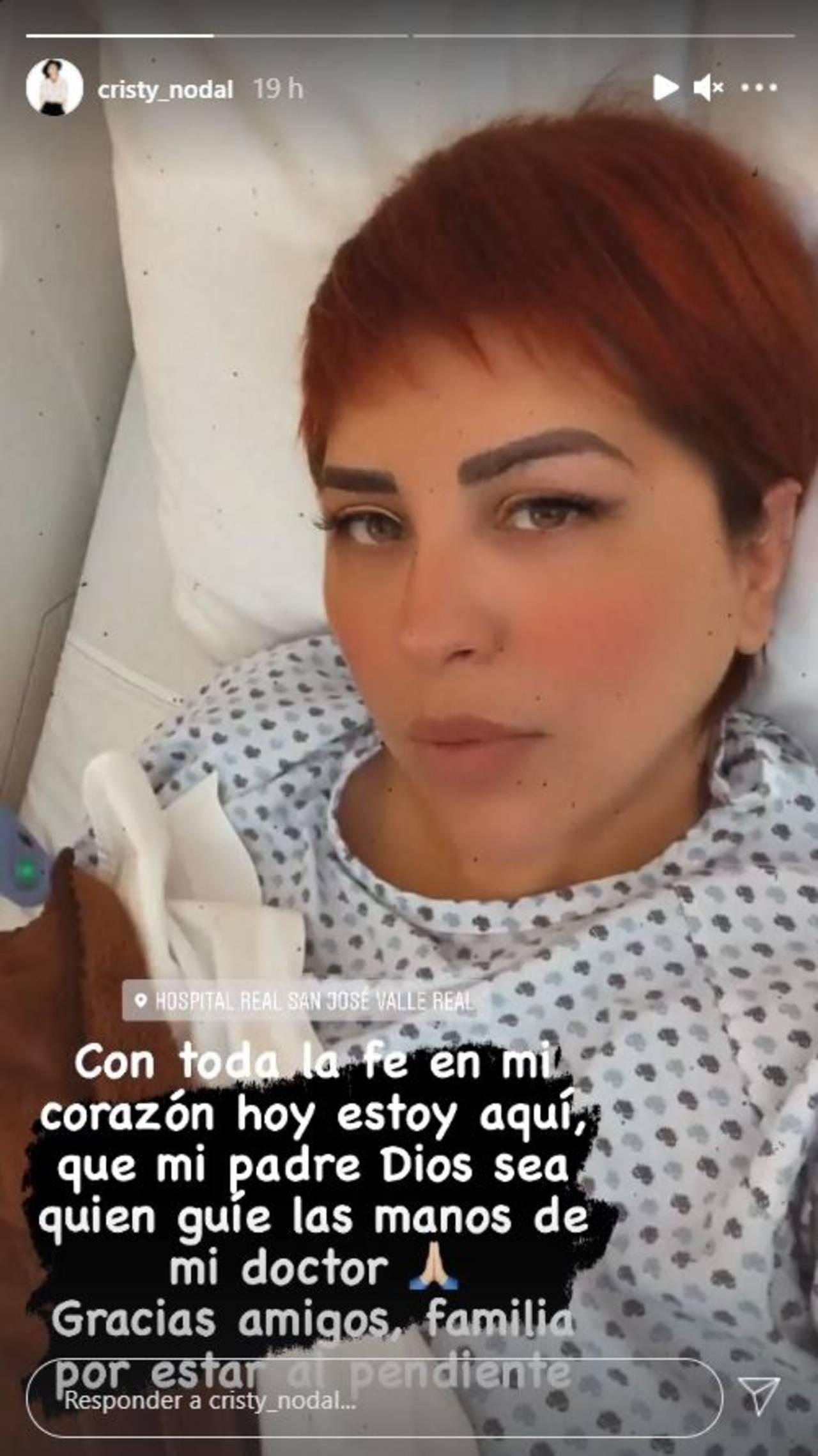 Hospitalizan a la mamá de Christian Nodal para realizarle cirugía