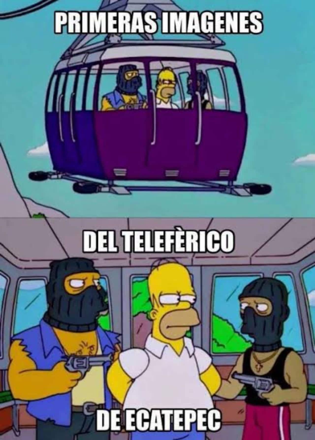meme asalto en el cablebus cdmx