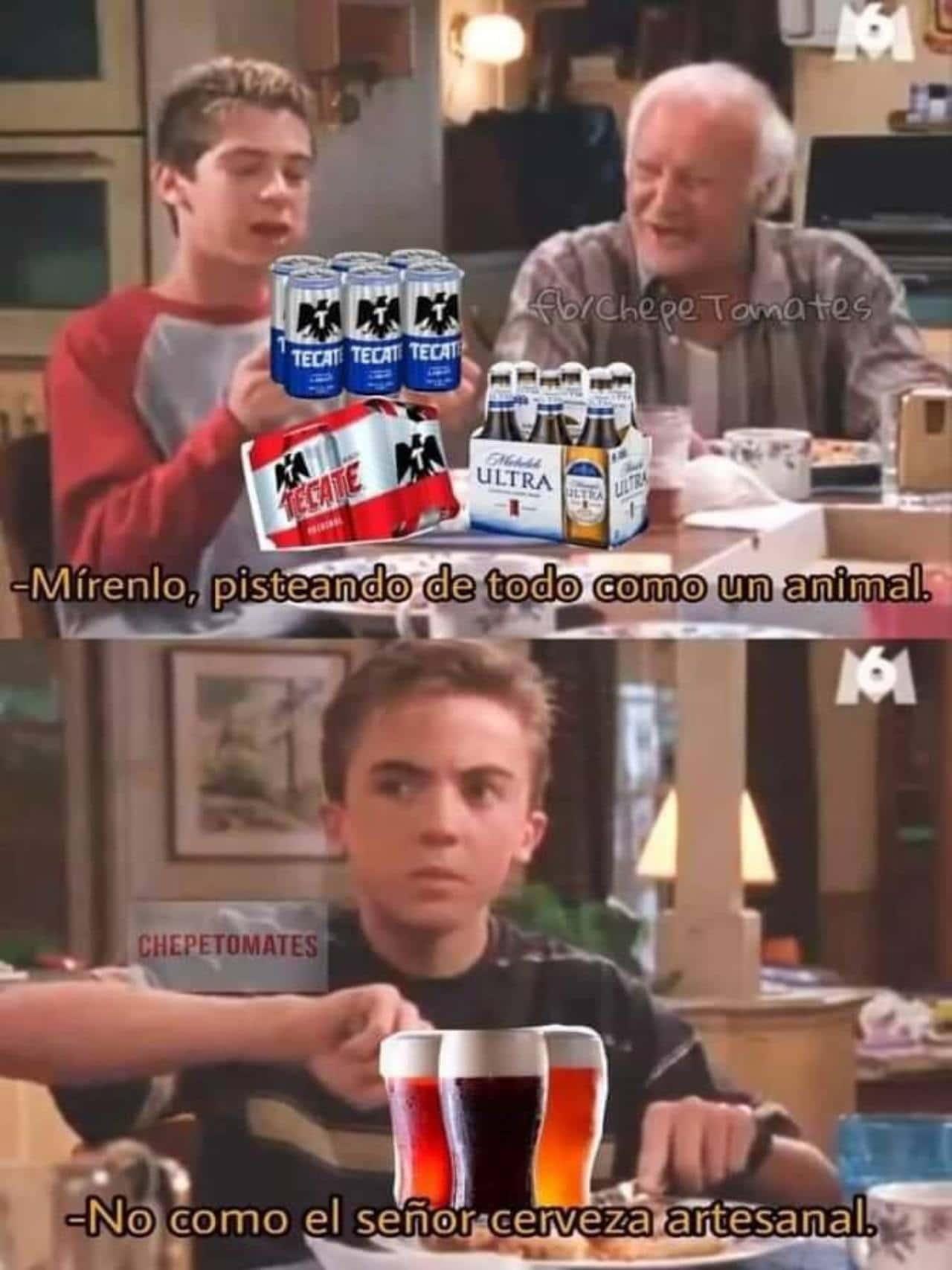 meme no como el señorito cerveza