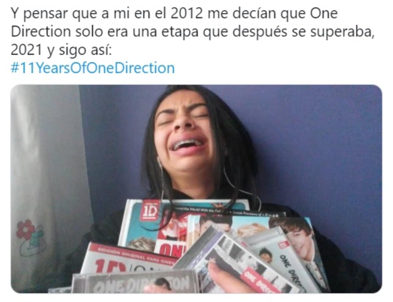meme one direction fan llorando revistas