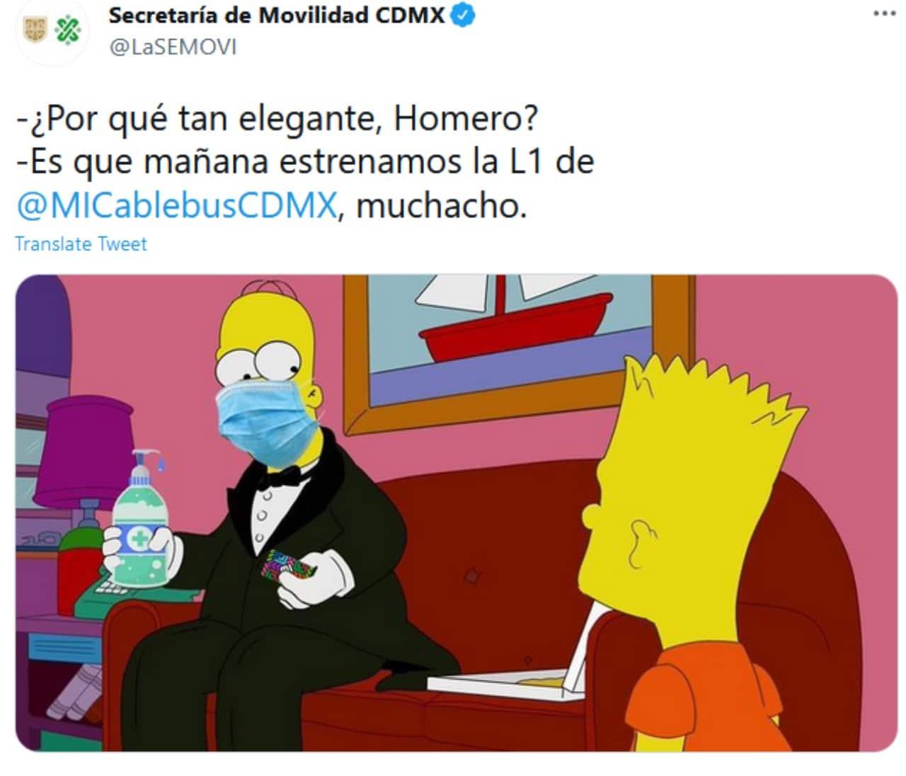 meme inauguracion del cablebus en CDMX