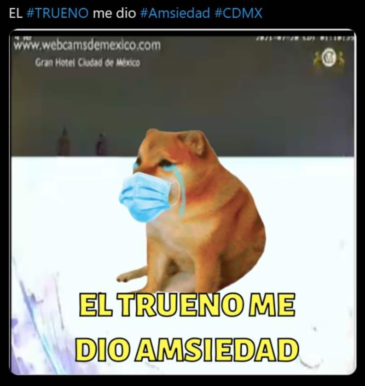 Los Memes del trueno en la CDMX