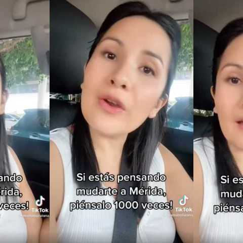 """Mujer boliviana se vuelve viral tras asegurar: """"No vengan a vivir en Mérida"""""""
