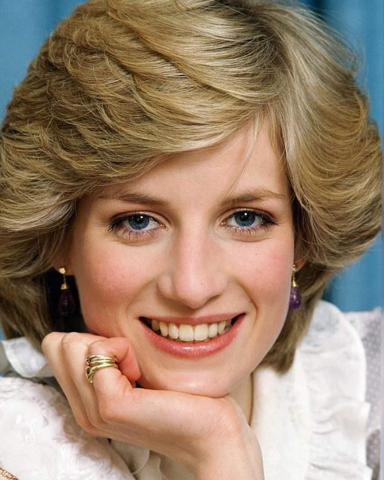 Sonrisa de la princesa Diana