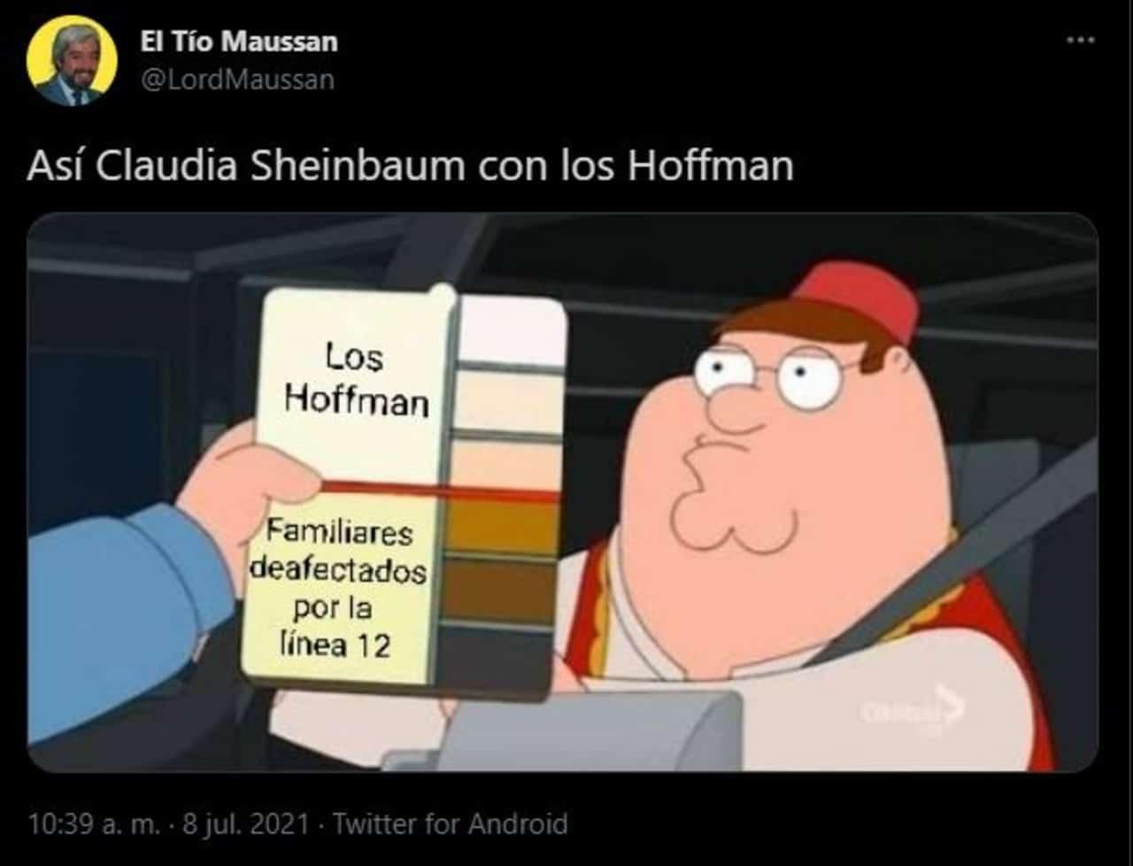 Critican a Claudia Sheinbaum por privilegios a los Hoffman