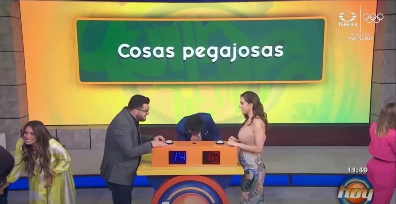 Tania Rincón menciona mecos en Hoy