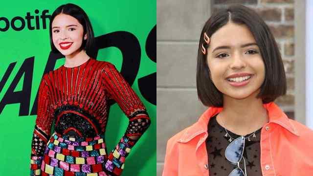 Ángela Aguilar cabello corto look