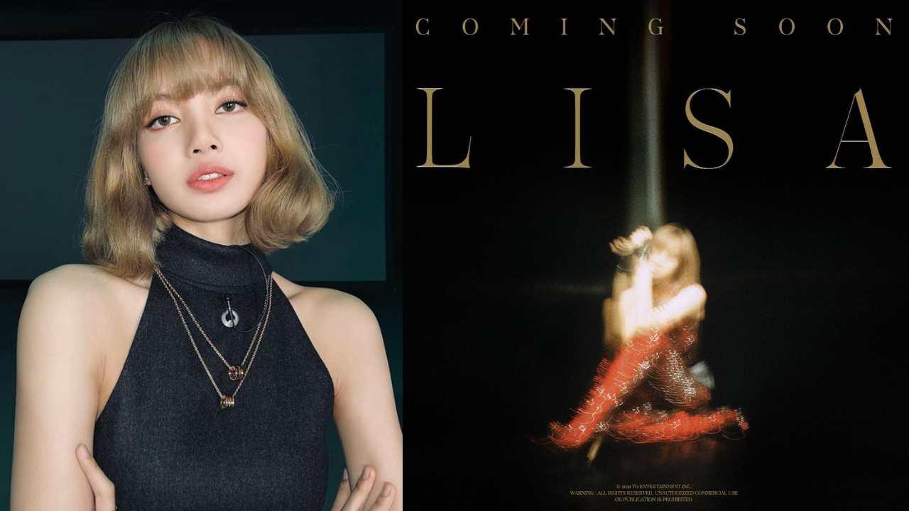 Lisa de BLACKPINK lanza poster debut solitario LALISA