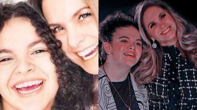 Lucero Mijares era idéntica a su mamá de bebé y una foto lo demuestra