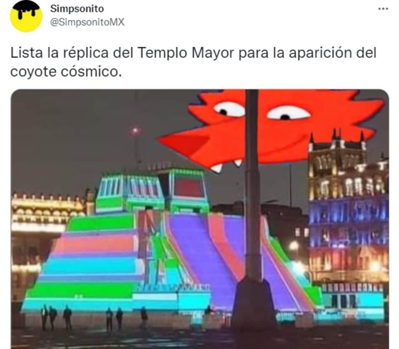 meme maqueta templo mayor zocalo cdmx