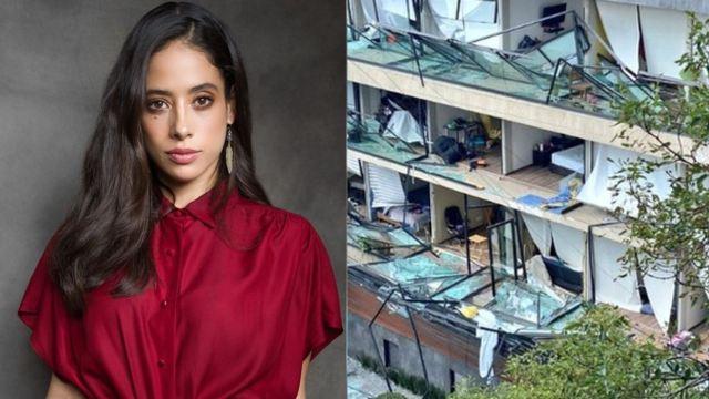 Fatima Molina estaba en explosion cdmx