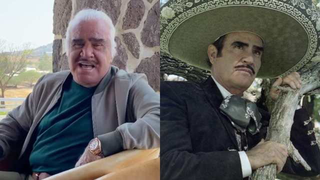 Revelan enfermedad que padece Vicente Fernández