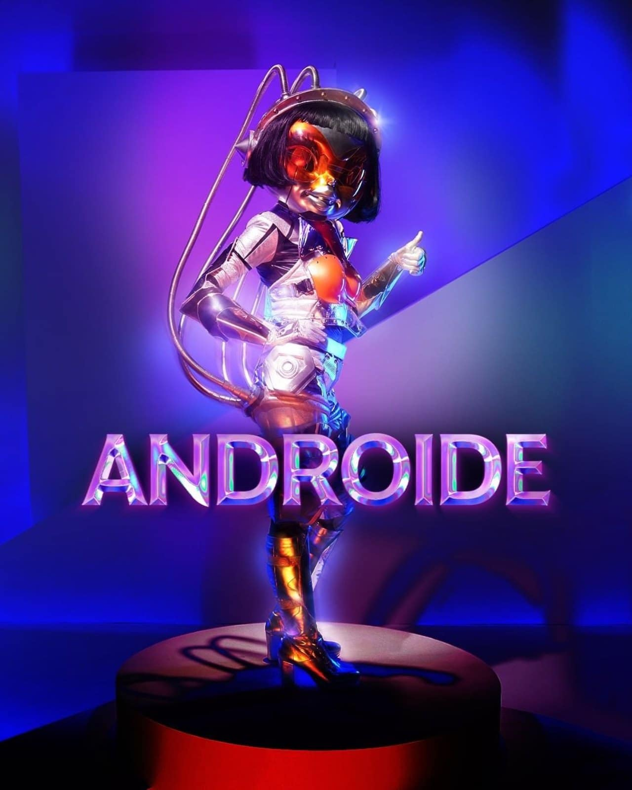 Androide en Quien es la mascara