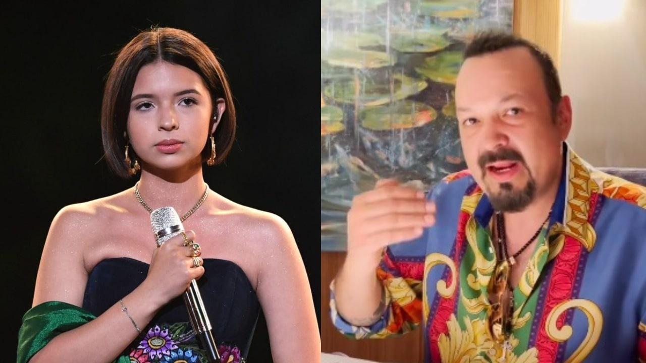 Angela Aguilar regano papa en vivo