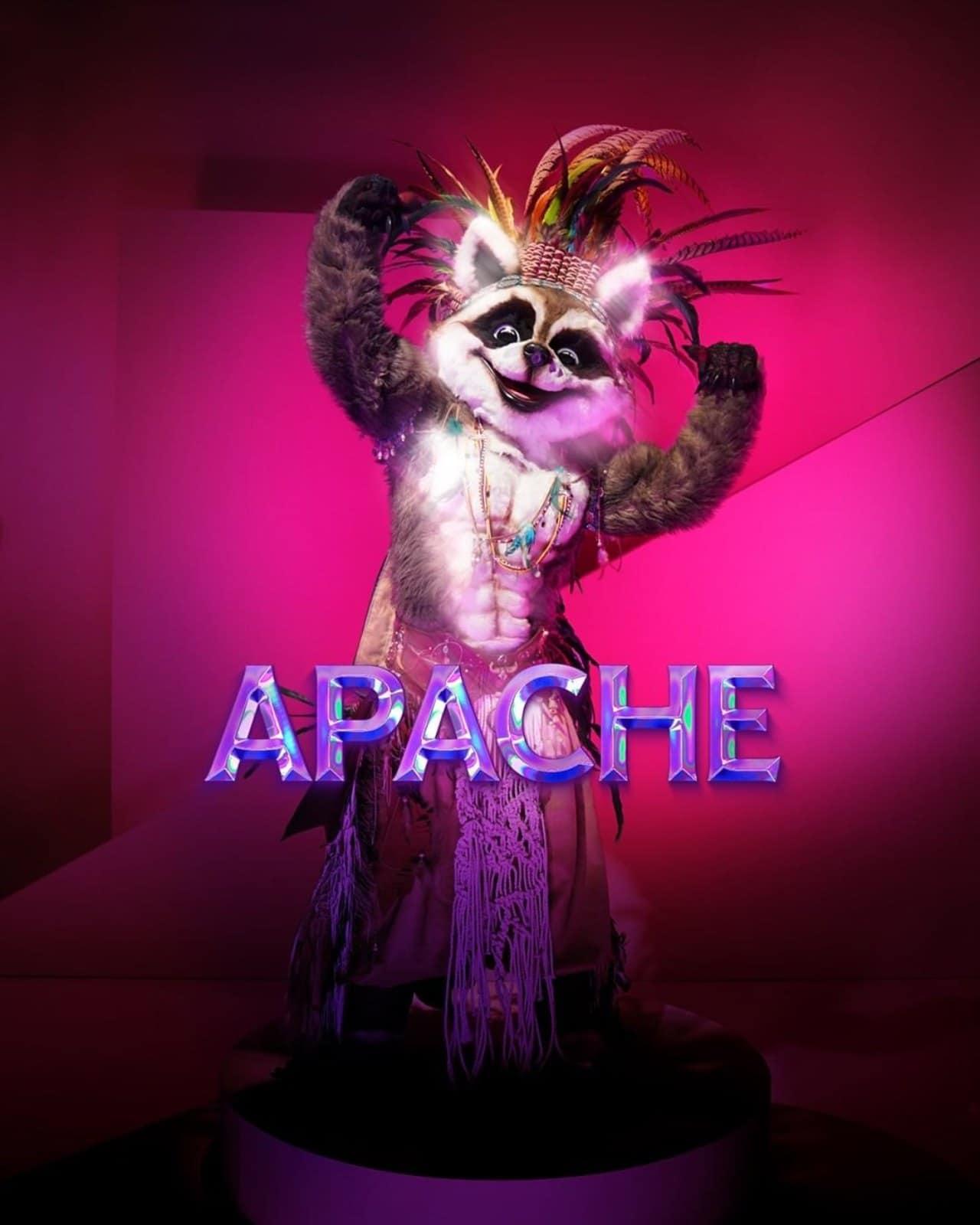 Apache en Quien es la mascara