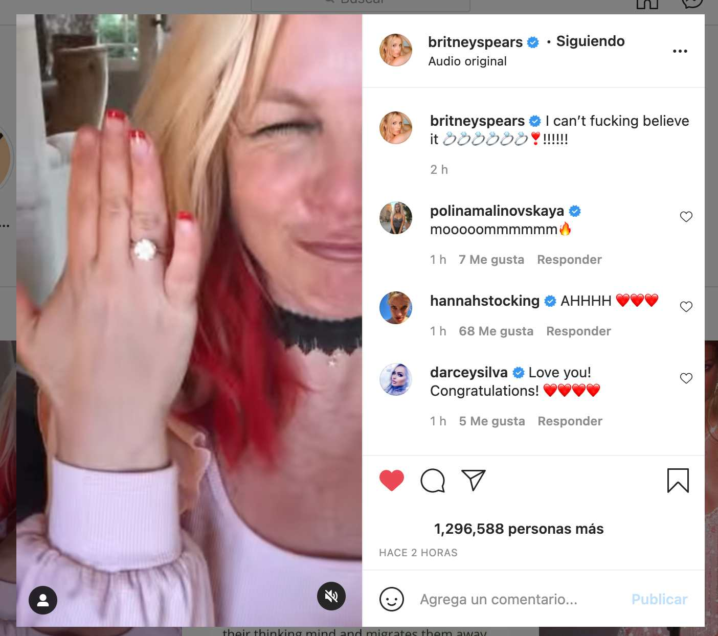 Britney Spears se compromete