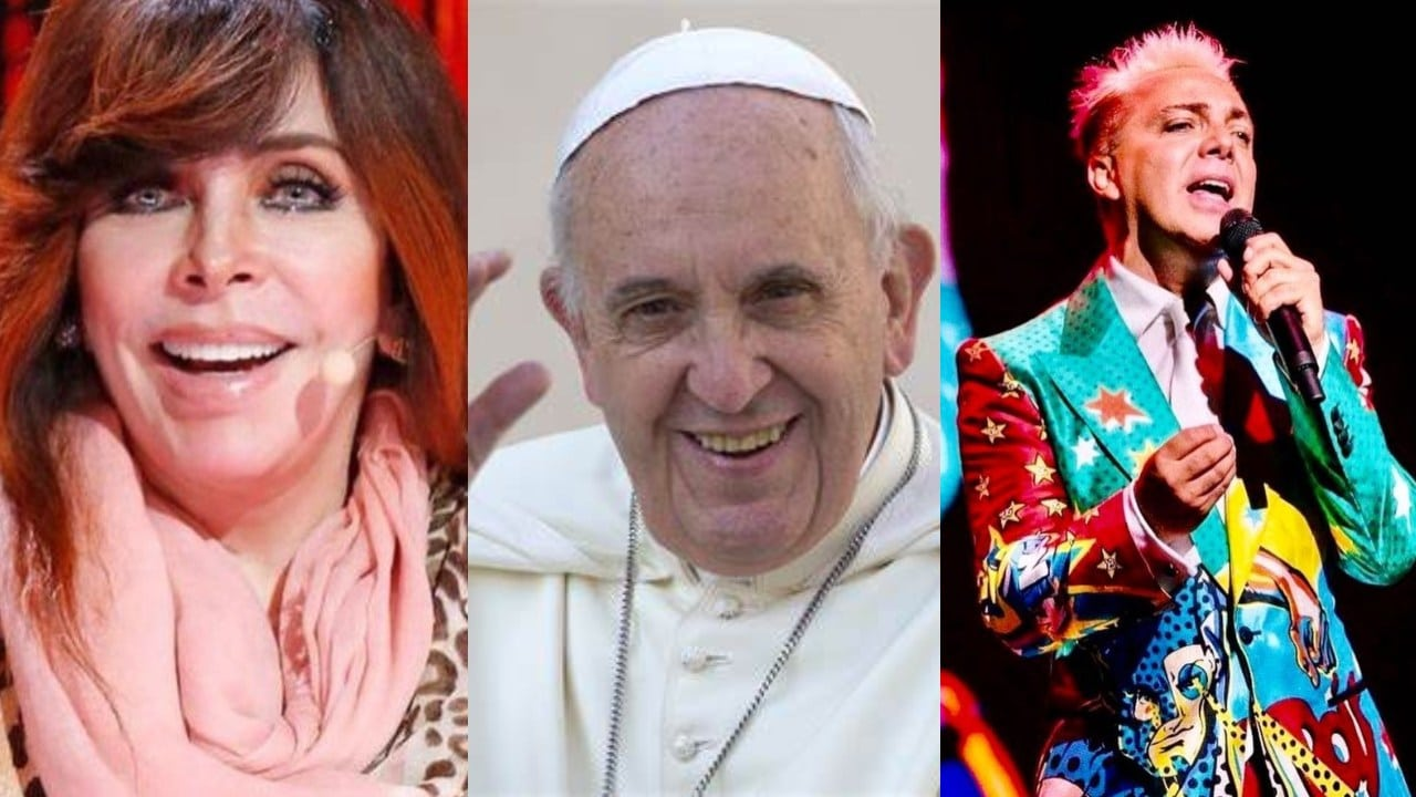 Veronica Castro Papa Francisco intercambian regalos
