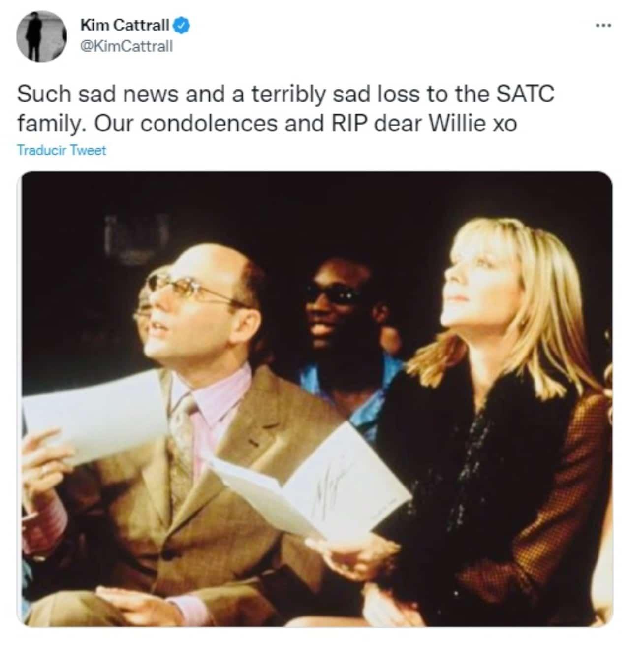 Kim Cattrall Willie Garson Stanford Blatch