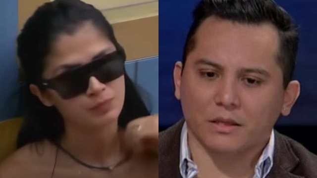 Kimberly Flores teme divorcio de Edwin Luna
