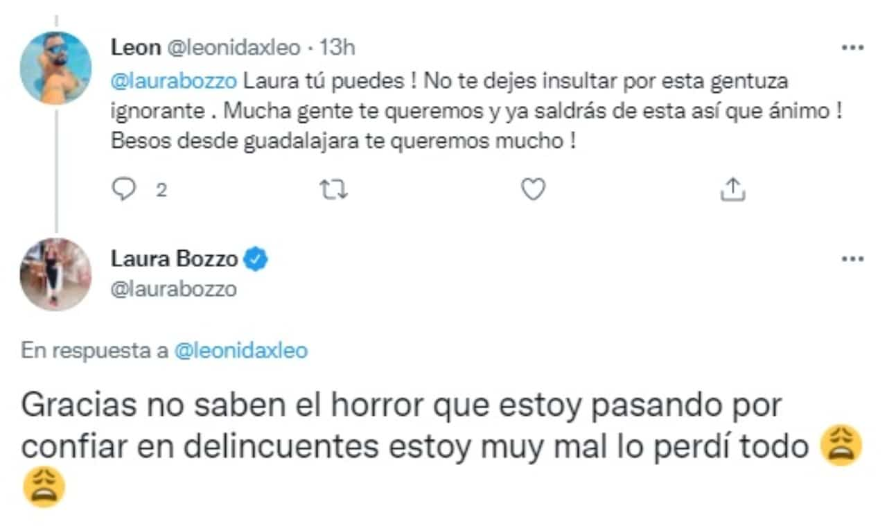 Laura Bozzo responde Twitter perdió todo