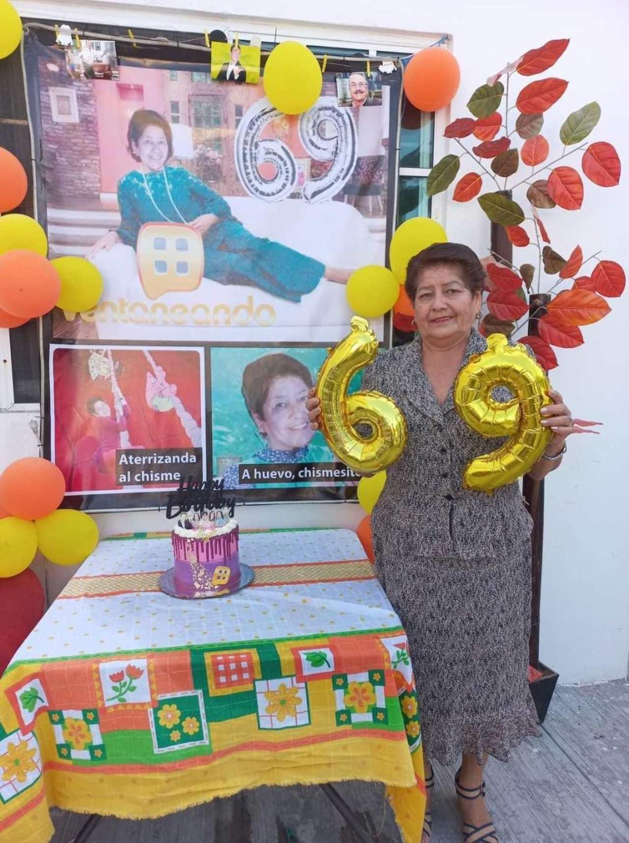 Mujer cumpleaños fiesta temática Pati Chapoy