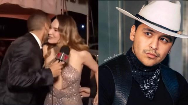 Nodal habla beso Belinda reportero Billboard