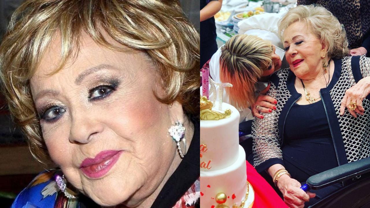Silvia Pinal tiene novio 90 anos