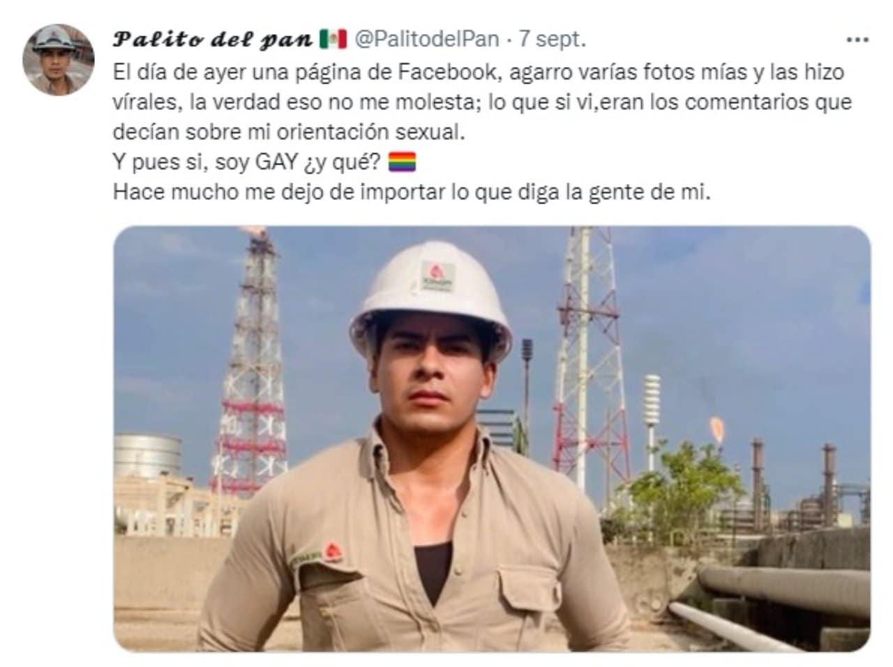 Trabajador Pemex responde criticas ser gay