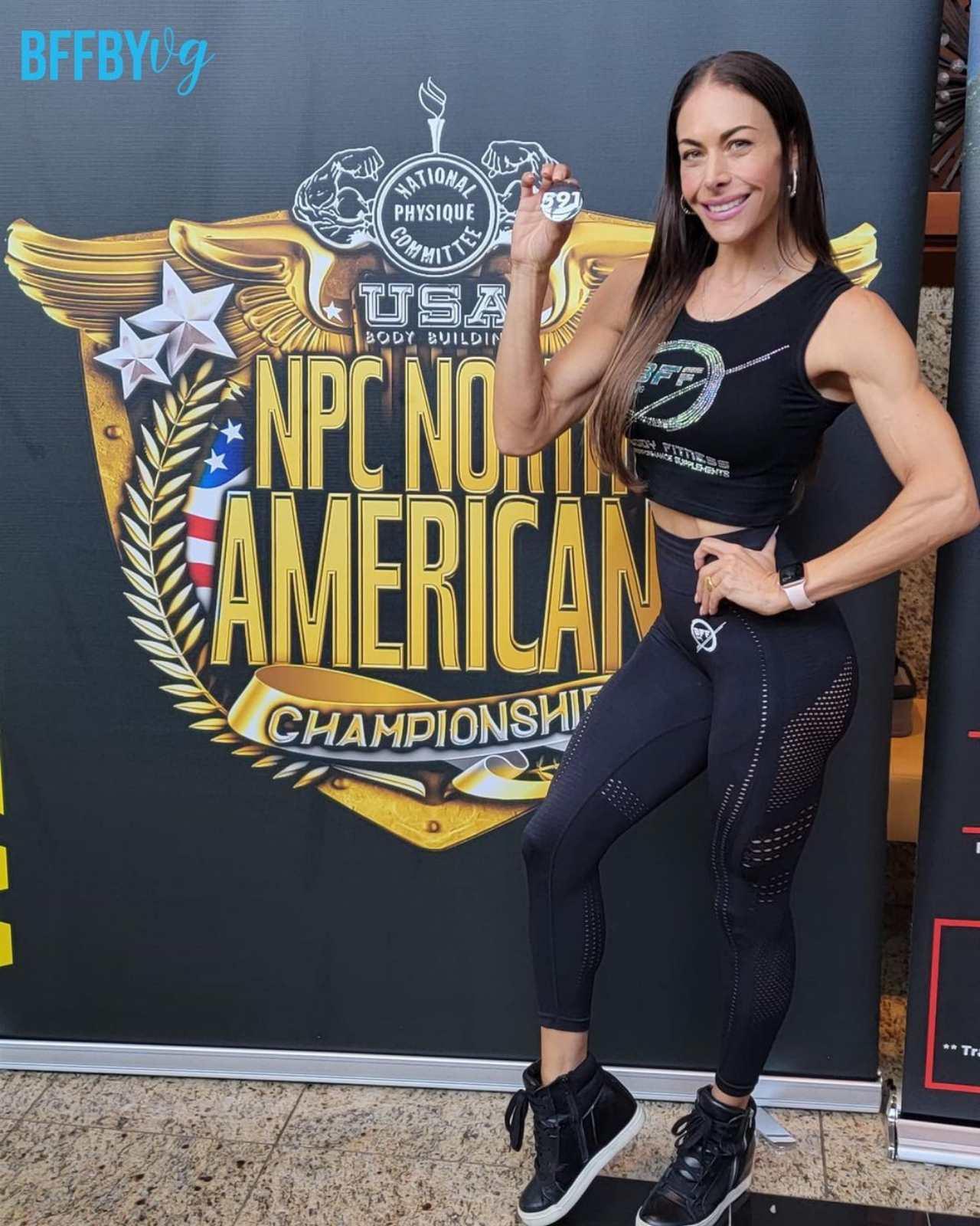 Vanessa Guzmán musculatura