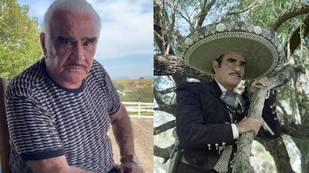 Vicente Fernandez contagio Covid en hospital