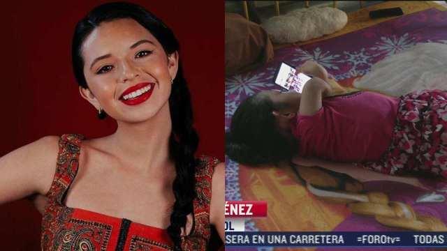 Ángela Aguilar niña cristal sueño