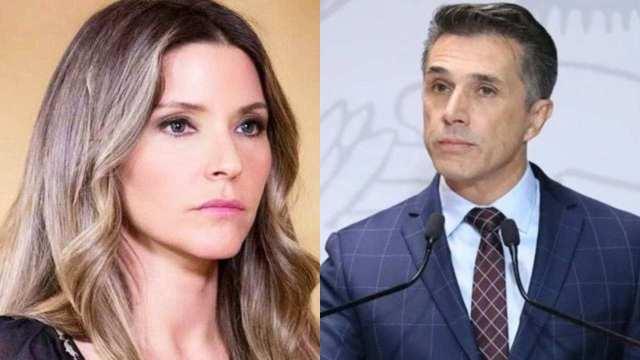 """Issabela Camil le exige a Sergio Mayer que no la llame """"abuela"""" de su nieta"""