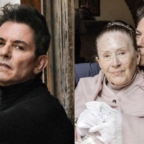 Ernesto Laguardia de luto muerte mama