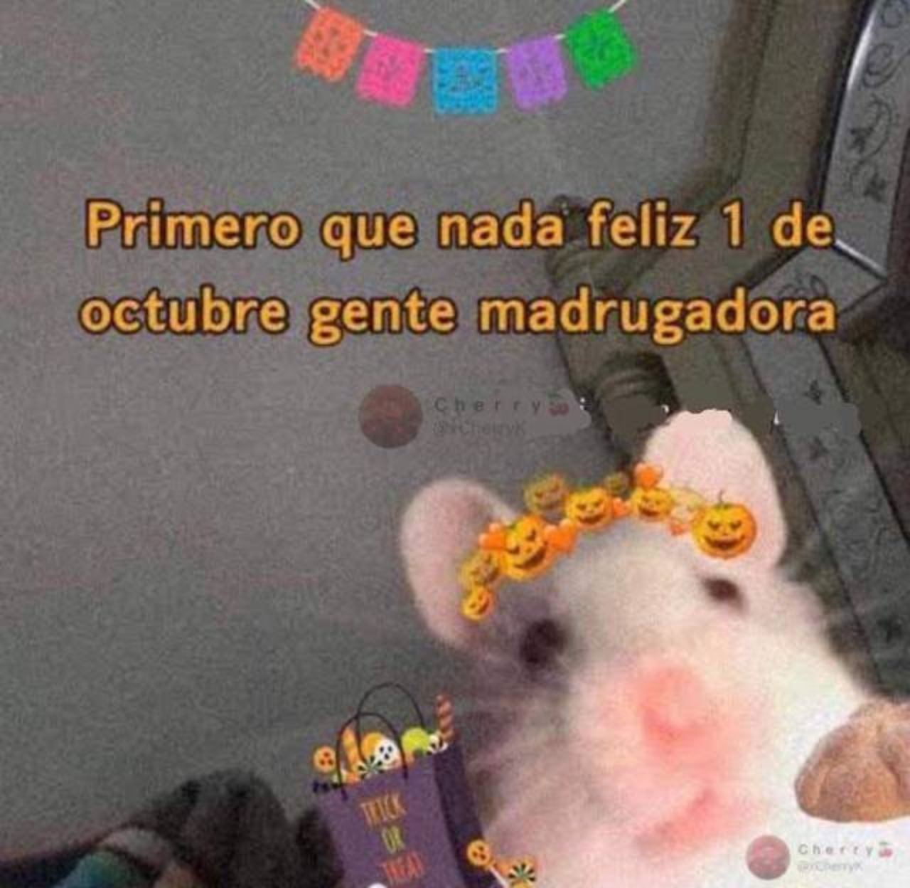 Halloween Octubre meme