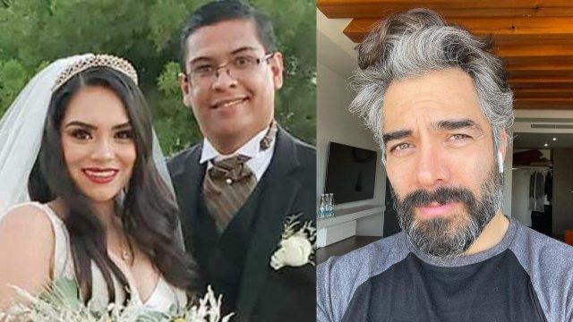 Hija Omar Chaparro se casa comediante