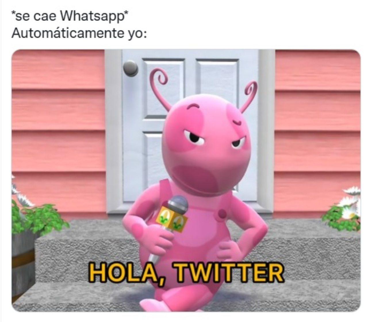 Meme caida redes sociales