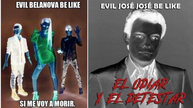 Memes evil be like contradecir cosas
