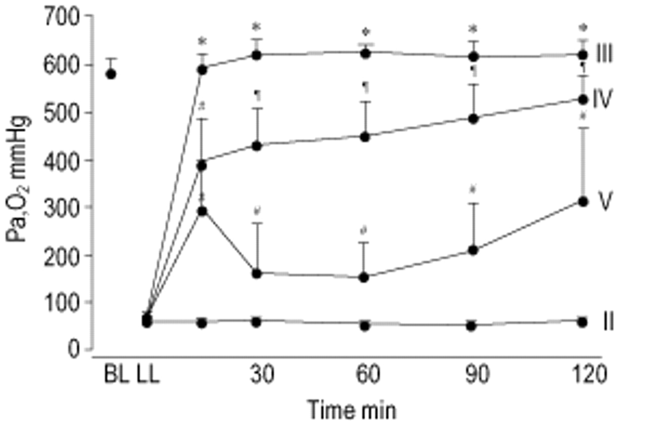 Iodixanol inhibits exogenous surfactant therapy in rats