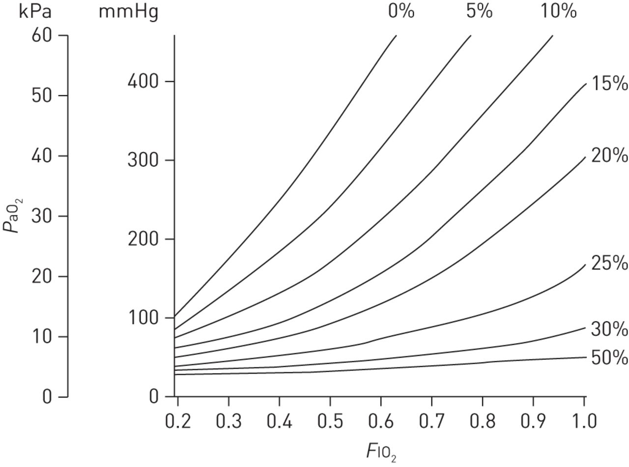 Gas Exchange And Ventilation Perfusion Relationships In
