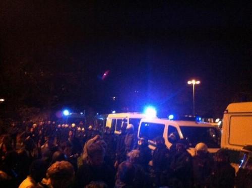 mültecilere polis saldırısı