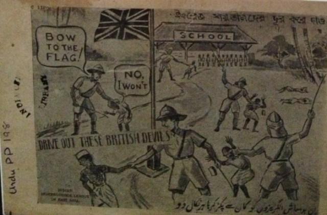 Hintlilerin Bağımsızlık Ligi - ?İngiliz şeytanları?